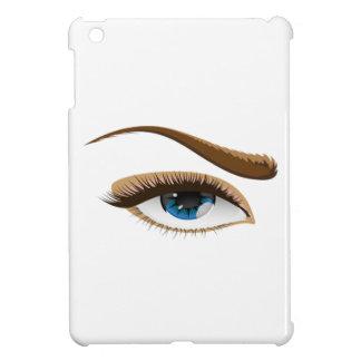 Ojo azul iPad mini fundas