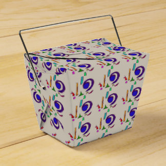 Ojo azul grande cajas para detalles de boda