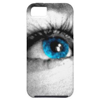 ojo azul iPhone 5 Case-Mate cárcasa