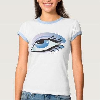 ojo azul remera