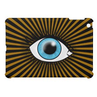 Ojo azul solar iPad mini cárcasa