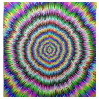 ojo boggling servilletas psicodélicas