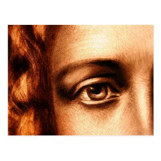 Ojo cariñoso del Jesucristo Postales