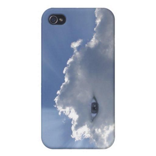 Ojo con los rayos a través de las nubes iPhone 4 cobertura