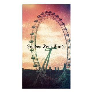 Ojo de Anitiqued Londres en la salida del sol Tarjeta De Visita
