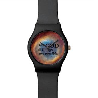 Ojo de dios relojes de pulsera