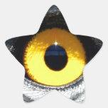Ojo de Eagle Etiqueta