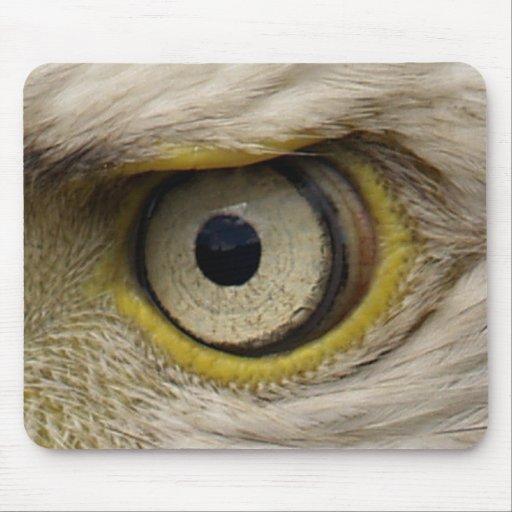 Ojo de Eagle Mousemat Alfombrilla De Raton