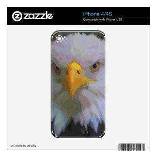 Ojo de Eagle Skins Para iPhone 4