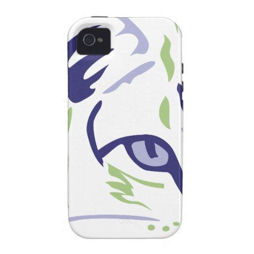 Ojo de gato de la intensidad vibe iPhone 4 carcasas