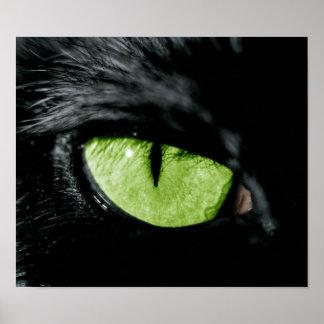 Ojo de gato impresiones