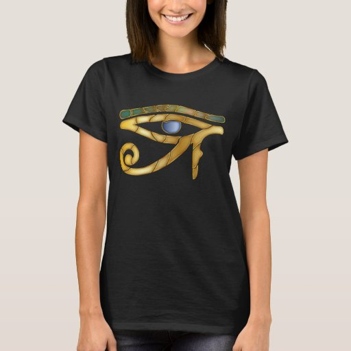 Ojo de Horus 6-DarkW - camiseta