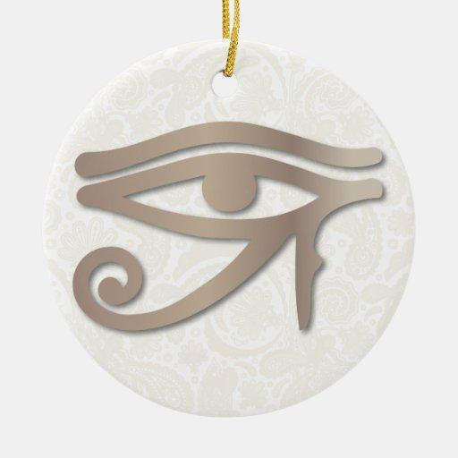 Ojo de Horus - arena 1 - ornamento Ornamento Para Arbol De Navidad