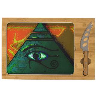Ojo de Horus, arte antiguo de Wadjet del egipcio