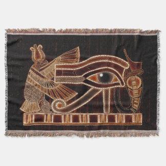 Ojo de Horus, arte antiguo de Wadjet del egipcio Manta