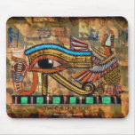 OJO de HORUS, arte egipcio Mousepad de WADJET