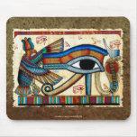 OJO de HORUS, egipcio Mousepad de WADJET