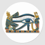 Ojo de Horus Etiqueta Redonda