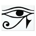 Ojo de Horus Invitación 10,8 X 13,9 Cm
