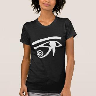 Ojo de Horus jeroglífico Camisetas