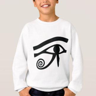 Ojo de Horus jeroglífico Sudadera