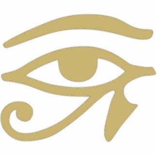 Ojo de Horus Llavero Fotográfico