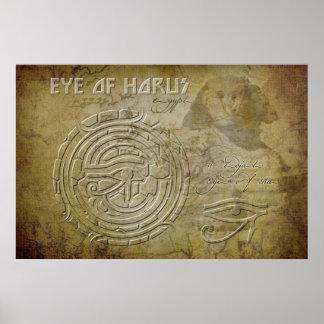 Ojo de Horus (ojo del Ra) Posters