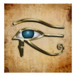 Ojo de Horus Posters