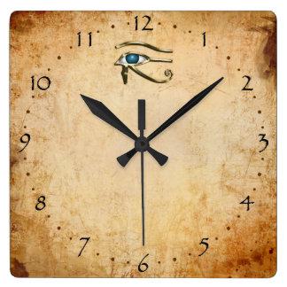 Ojo de Horus Reloj Cuadrado