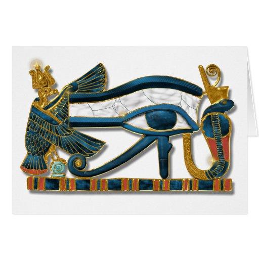 Ojo de Horus Tarjeta De Felicitación