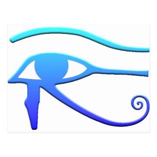 Ojo de Horus Tarjeta Postal
