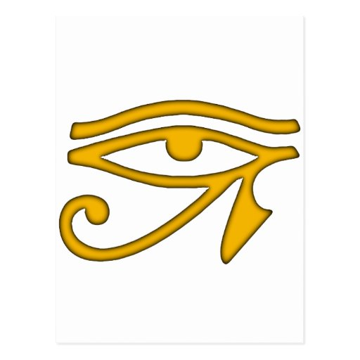 Ojo de Horus Tarjetas Postales