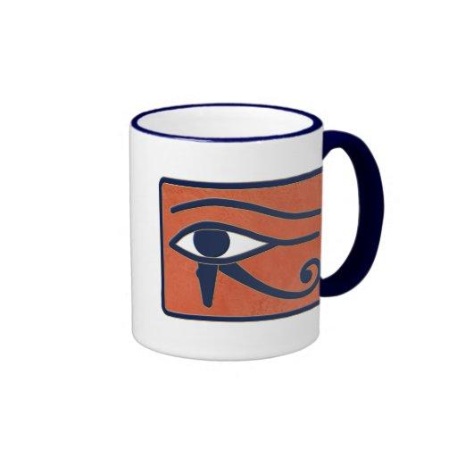 Ojo de Horus Taza A Dos Colores