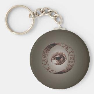 Ojo de Illuminati Llaveros Personalizados