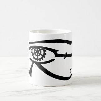 Ojo de Khopesh Taza Básica Blanca