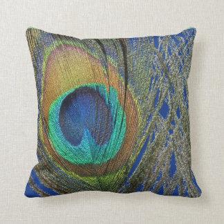 Ojo de la almohada del diseñador de la pluma del cojín decorativo