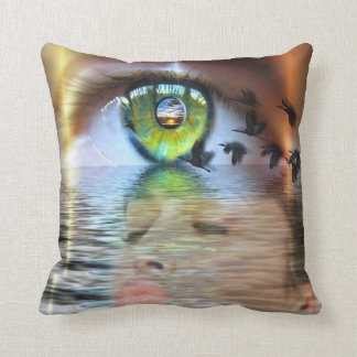 Ojo de la almohada del espectador