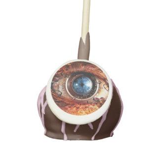 Ojo de la cámara de Steampunk