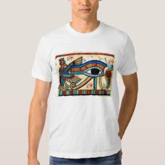 """""""Ojo de la camiseta del blanco de Horus"""" Wadjet Remeras"""
