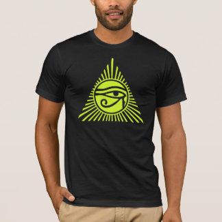 Ojo de la camiseta del Ra