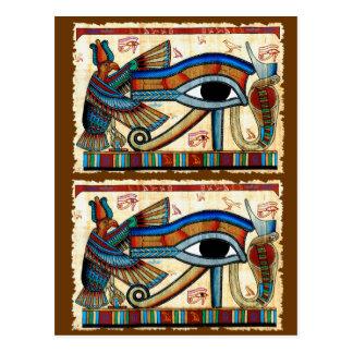 OJO de la colección de HORUS Tarjeta Postal