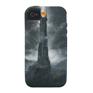 Ojo de la composición de Sauron iPhone 4 Fundas
