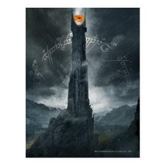 Ojo de la composición de Sauron Postal