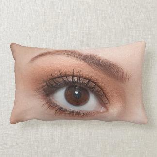 Ojo de la derecha de Woman´s Cojín