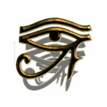 Ojo de la escultura de Horus Esculturas Fotograficas