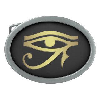 Ojo de la hebilla del cinturón del horus hebilla de cinturon oval