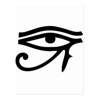 Ojo de la idea egipcia del regalo de dios de Horus Postal
