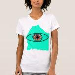 Ojo de la montaña camiseta