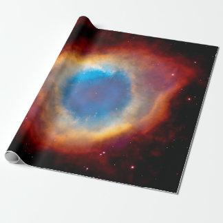 Ojo de la nebulosa de la hélice de dios papel de regalo