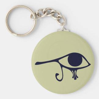 Ojo de la noche de Horus Llaveros Personalizados